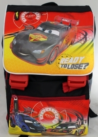 BACKPACK Folder Extensible the School Primino - DISNEY - CARS more' TRIBUTE