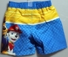 COSTUME for the beach / Pool Shorts DISNEY - PAW PATROL - 2, 4, 6, 8 years