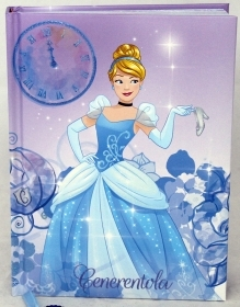 DIARY CALENDAR SCHOOL DISNEY CINDERELLA - 12 Months new in