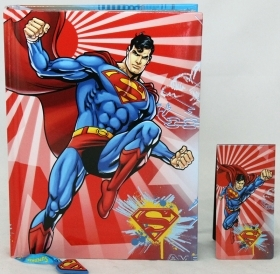DIARY CALENDAR SCHOOL DISNEY SUPERMAN - 12 Months new