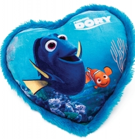 PLUSH CUSHION-Heart DISNEY FIN