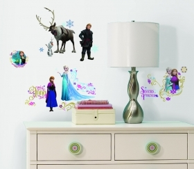 Wall decoration ADHESIVE PVC Disney FROZEN, 36-piece