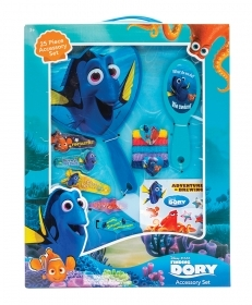 Fantastic set of Accessories for Hair, Disney finding DORY - 25 pieces