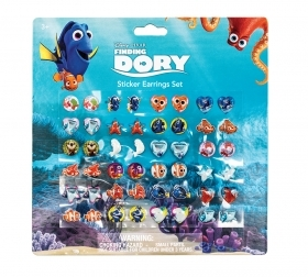 FANTASTIC SET - 24 Pairs of earring Stickers DISNEY finding DORY