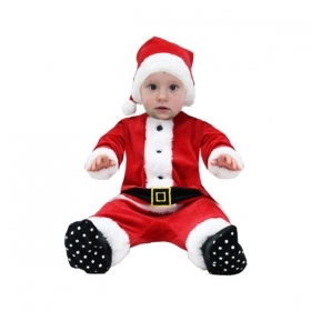 DRESS COSTUME Mask NATELE BABY - SANTA CLAUS Baby