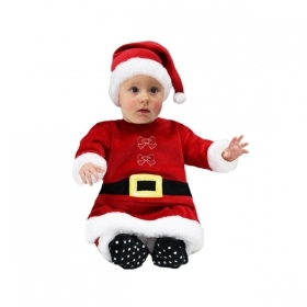 DRESS COSTUME Mask NATELE NEWBORN - MOTHER CHRISTMAS Newborn