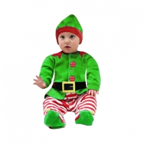 DRESS COSTUME Mask, NATELE and BABY CHRISTMAS ELF Baby