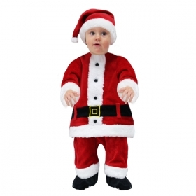 DRESS COSTUME Mask CHRISTMAS First Steps - SANTA CLAUS