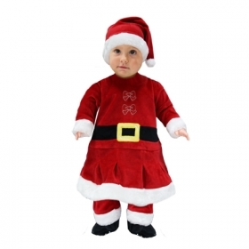 DRESS COSTUME Mask CHRISTMAS First Steps - MOTHER CHRISTMAS