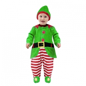 DRESS COSTUME Mask CHRISTMAS First Steps - CHRISTMAS ELF