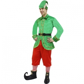 DRESS COSTUME Mask CHRISTMAS - CHRISTMAS ELF new