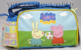 Handbag shoulder Strap picnic DISNEY - PEPPA PIG and GEORGE PIG
