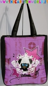 BORSA SHOPPER CALIMERO FUXSIA