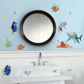 Wall decoration ADHESIVE PVC Disney DORY and NEMO, 19 items