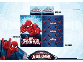 COMPLETE SINGLE BED SHEETS with Pillowcase DISNEY MARVEL SPIDERMAN