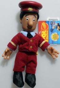 Snowman plush The postman Pat