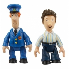 Set of 2 mini figures The postman Pat - Postman Pat - Pat and Ben