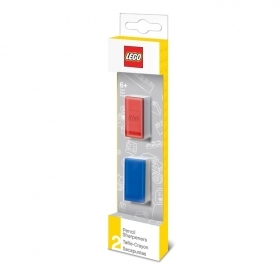 LEGO, SET di DUE Temperamatite colorati, colori assortiti LEGO