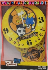 WALL CLOCK THE SIMPSONS BARTH 24X38