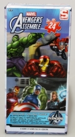 2 PUZZLES of 24 pieces DISNEY AVENGERS - 3D