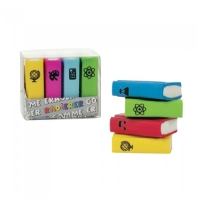 Eraser COLLECTION - IDEA-CANDY - AFTER PARTY - BOOKS