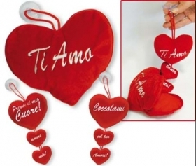 Fantastic HEART in Velvet with HEARTS INTERIOR IDEA SAN VALENTIVO b