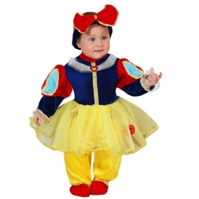 DRESS COSTUME CARNIVAL Mask NEWBORN - snow white and the 7 DWARFS