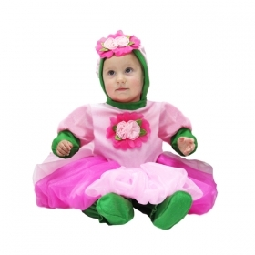 DRESS COSTUME CARNIVAL Mask NEWBORN - PINK