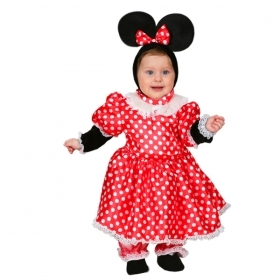 DRESS COSTUME CARNIVAL Mask NEWBORN - TOPOLETTA MINNIE