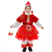 DRESS COSTUME Mask CARNIVAL baby - little RED riding HOOD