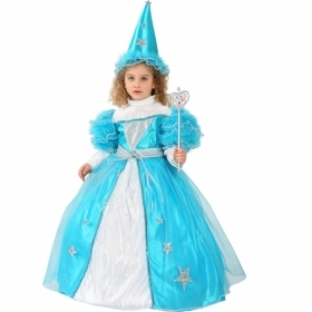 DRESS COSTUME Mask CARNIVAL baby - BLUE FAIRY