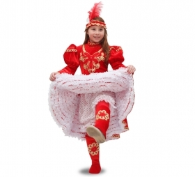 DRESS COSTUME Mask CARNIVAL baby - Dancer CAN-CAN