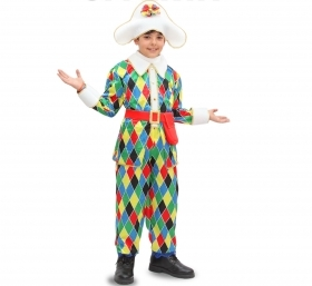 DRESS COSTUME CARNIVAL Mask child - HARLEQUIN