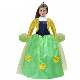 DRESS COSTUME CARNIVAL Mask girl - PRINCESS Anna