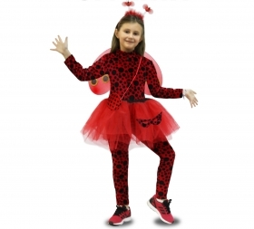 DRESS COSTUME CARNIVAL Mask girl - LADYBUG