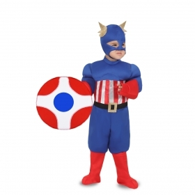 DRESS COSTUME Mask CARNIVAL baby - AMERICA