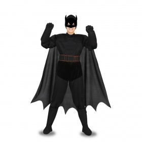 DRESS COSTUME Mask CARNIVAL kid - BAT Batman black