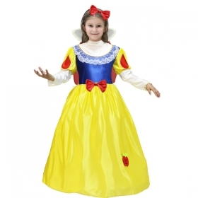 DRESS COSTUME CARNIVAL Mask girl - snow white p