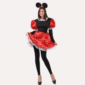 DRESS COSTUME CARNIVAL Mask Adult TOPOLETTA Minnie