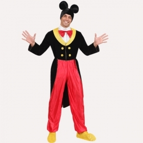 DRESS COSTUME CARNIVAL Mask - MICKEY mouse Adult