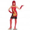 DRESS COSTUME CARNIVAL Mask for Adults - LADY JAZZ