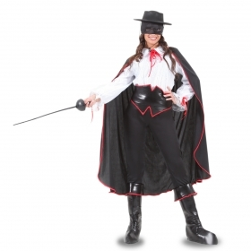 DRESS COSTUME CARNIVAL Mask Adult AVENGING Zorro