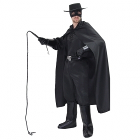 DRESS COSTUME CARNIVAL Mask Adult - ZORRO