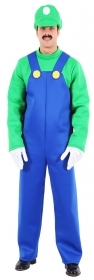 DRESS COSTUME CARNIVAL Mask Adult LUIGI