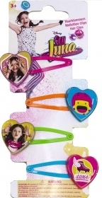 HAIR FERMATRECCINE CLIP-on 4-piece DISNEY - SOY LUNA