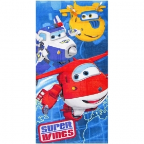 Beach TOWEL / swimming Pool, SUPER WINGS - 70x140 cm