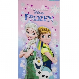 Beach TOWEL / Pool, DISNEY - FROZEN - ELSA ANNA OLAF 70x140 cm