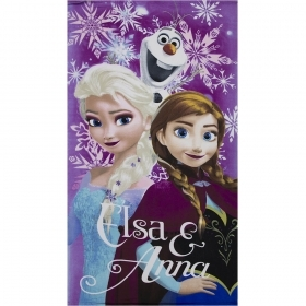 Beach TOWEL / Pool, DISNEY - FROZEN - ELSA ANNA OLAF 70x140 cm b