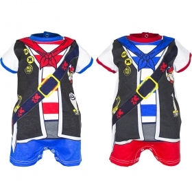 PLAYSUIT - ROMPER Disney - MICKEY mouse pirate by 6 months to 23 months