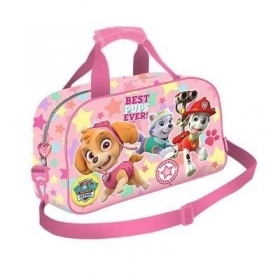 BAG DUFFEL bag with shoulder Strap - Gym-PAW PATROL - Skye Everest Marshall